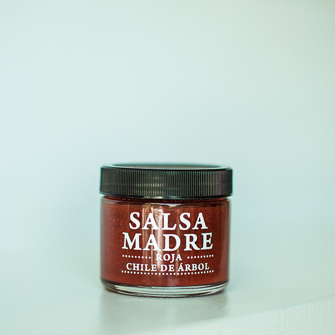 Salsa Roja Chile de Árbol