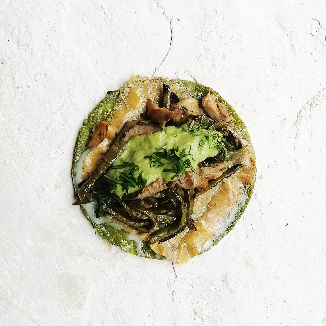Gringa de Nopal & Mushrooms